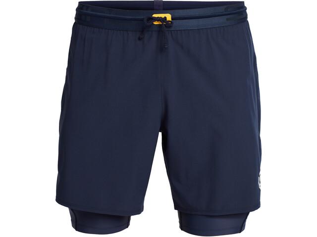 Skins Series-3 Superpose Shorts Men, blauw